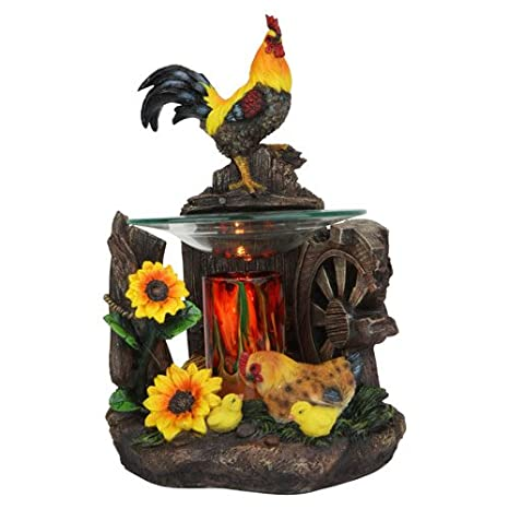 Amazon.com: Electric Gallo calentador de aceite: Home & Kitchen