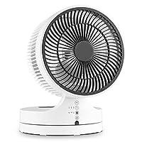 Klarstein Touchstream • Tischventilator • Bodenventilator • Ventilator • 8 m Reichweite • 90° Oszillation • 17 cm Rotor • 45 Watt • Abschalt-Timer: 1, 2, 4 h • Touch • Fernbedienung • weiß-schwarz