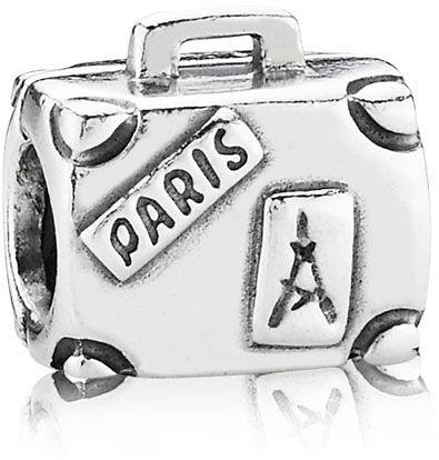 charm pandora maleta paris