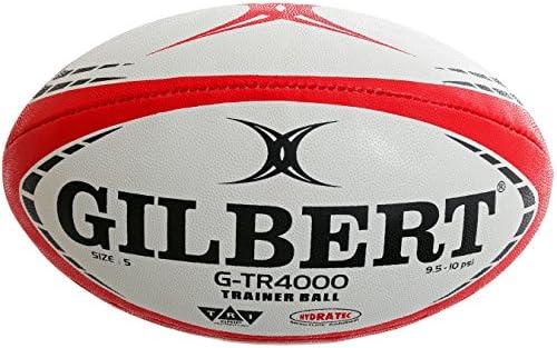 Gilbert g-tr4000 Trainer balón de Rugby, Color Rojo, tamaño Talla ...