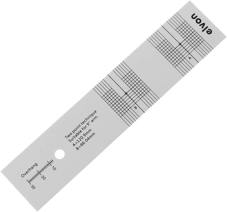 DONGMIAN Pickup Calibrazione Distanza Gauge Goniometro Record LP Vinile Giradischi fonografo Cartuccia Phono Stylus Allineamento Strumento di ingrandimento