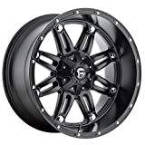 Fuel Offroad Hostage Black Wheel (22x11''/5x5.5inches ,  -24mm Offset)
