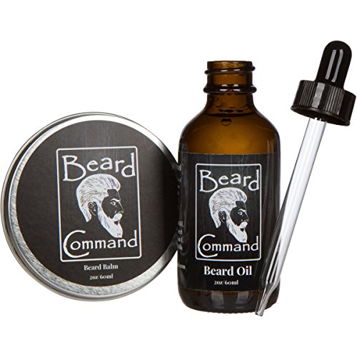 beard mustache oil balm wax softener moisturizer grooming kit for men natural conditioner. Black Bedroom Furniture Sets. Home Design Ideas