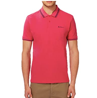 001dab1b90 Ben Sherman Signature Polo Short Sleeve MC13528  Amazon.co.uk  Clothing