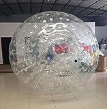 Qiyun Zorb Ball Inflatable Ball Zorbing Human Hamster Ball PVC1 0mm 2 5M 8 2ft