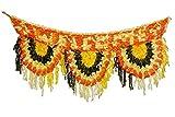 Neo Victory Diwali Special Multi Crocheted Woolen Door Toran