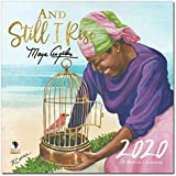 African American Expressions - 2020 Black Calendar, and Still I Rise Maya Angelou, 12 x 12 Inches WC-185