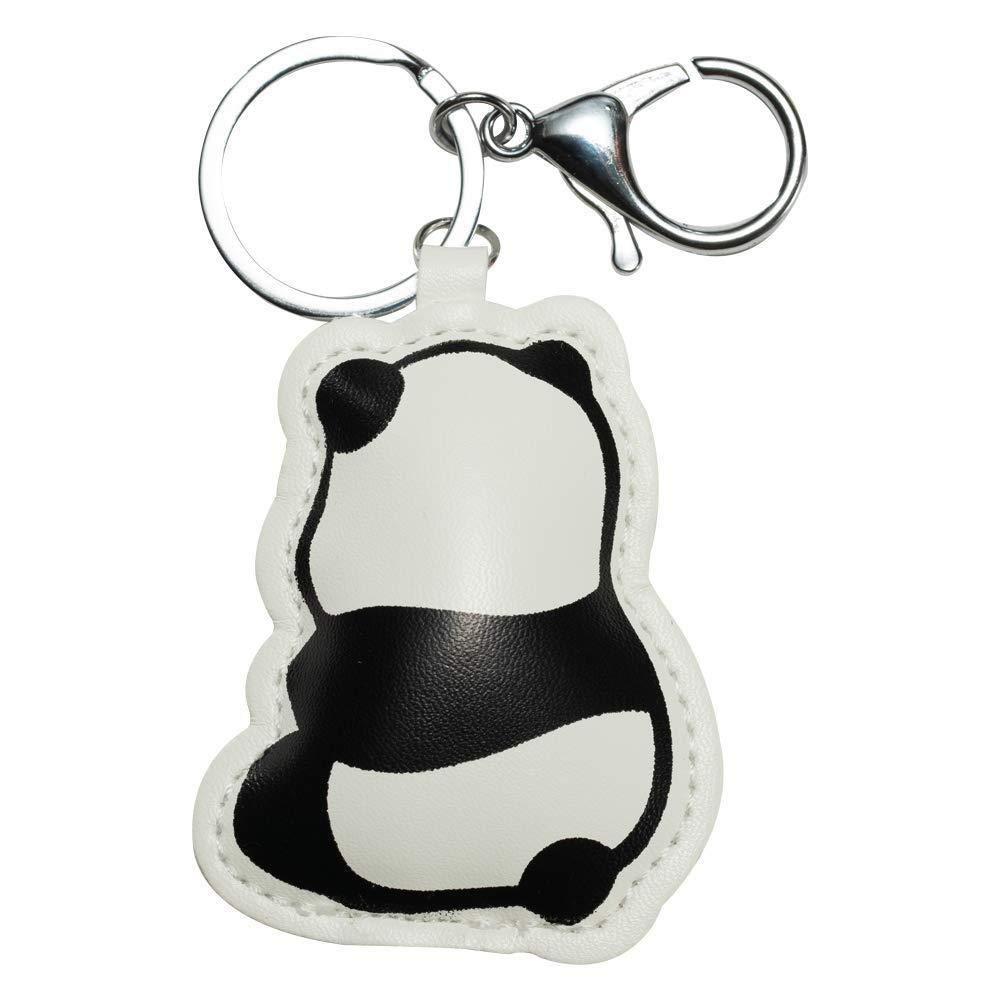 Oldlila Cute PU Panda Keychain Panda Gift for Girl Women Birthday Gift