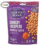 Saffrоn Rоad Crunchy Chickpеas - Bоmbay Spicеs - Casе оf 12-6...