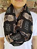 Game Of Thrones Iron Throne Infinity Scarf