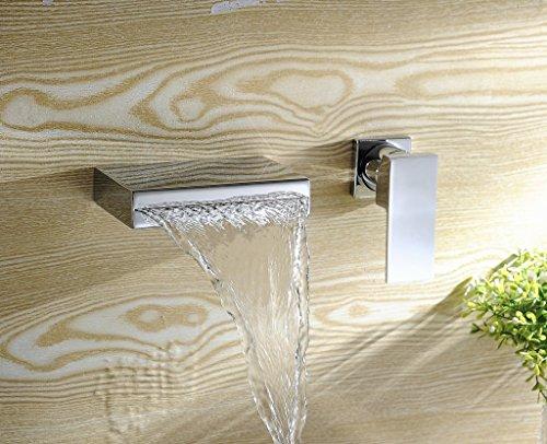 wall mount bathroom faucet - 4