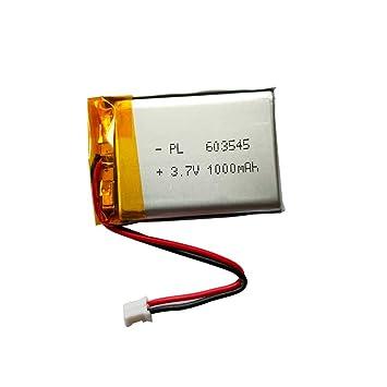 KARUF - Batería de Repuesto de 3,7 V 1000 mAh - PL603545 con ...
