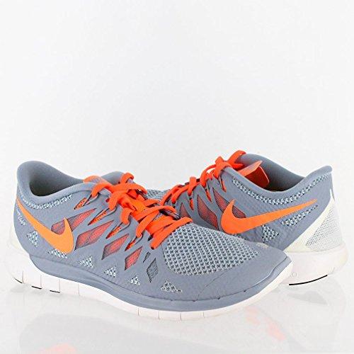 Nike Free 5.0, Mgnt Gry / Hypr Crmsn-lt Mgnt Gr, 7