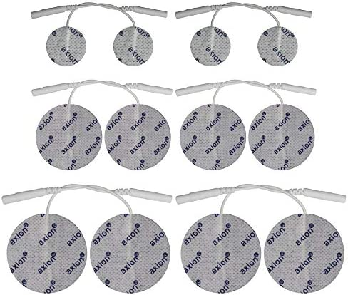 axion Round Electrode Mix Set for TENS and EMS /Ø32mm /Ø50mm /Ø70mm
