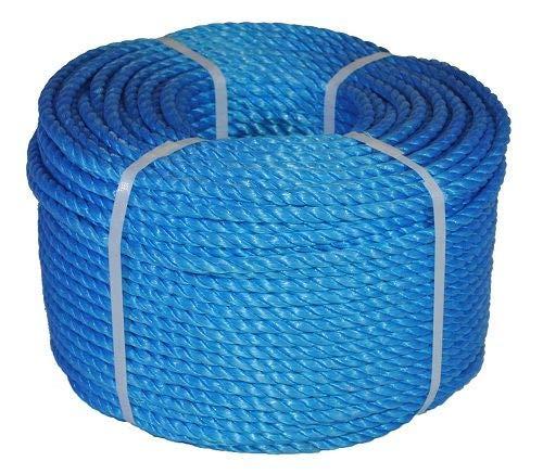 14MM 220M Trade COILS EVERLASTO bluee Polypropylene Poly Rope 6MM 8MM 10MM 12MM 14MM (14MM)