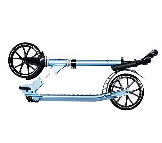 Scooter, Patinete Azul, Scooter Plegable de Dos Ruedas para ...