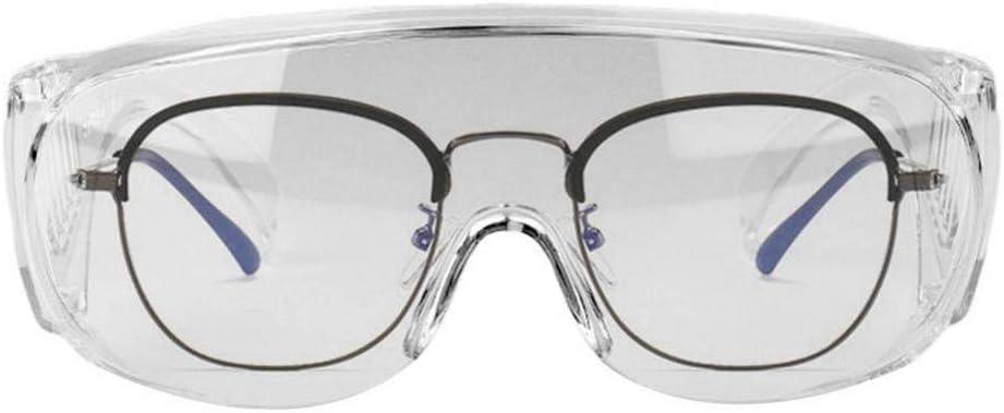 Gafas de seguridad protectoras, Gafas de protección ocular Gafas de seguridad antipolvo Protectores de ocular transparentes para actividades al aire libre,