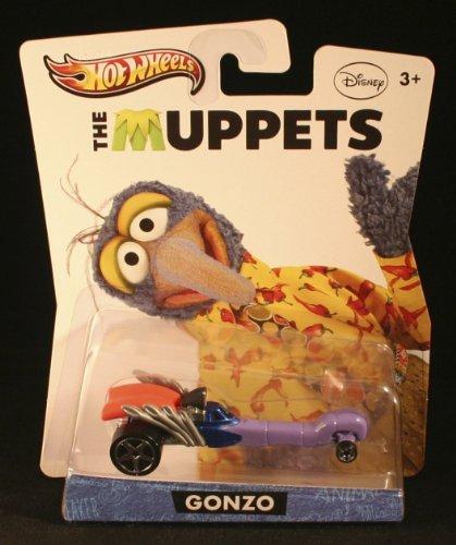 Hot Wheels Y0758 The Muppets Gonzo (Muppets Dr Bunsen Honeydew)