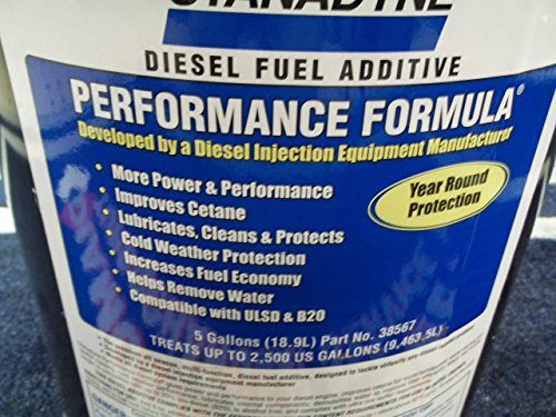 Stanadyne Performance Formula 5 Gallon Pail Treats 2,500 gallons diesel fuel per Pail by Stanadyne (Image #1)