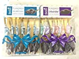 Dilettante Gourmet Chocolate Flavored Coffee Spoons, Salted Caramel & Assorted, 2 Pack