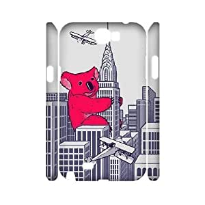 Koala High Qulity Customized 3D Cell Phone HTC One M8 , Koala HTC One M8 3D Cover Case