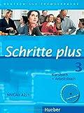 Schritte plus 3: Deutsch als Fremdsprache / Kursbuch + Arbeitsbuch mit Audio-CD zum Arbeitsbuch und interaktiven Übungen (SCHRPLUS)