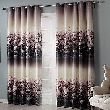 Amazonde Pwne Zwei Panels Vorhang Schlafzimmer Material