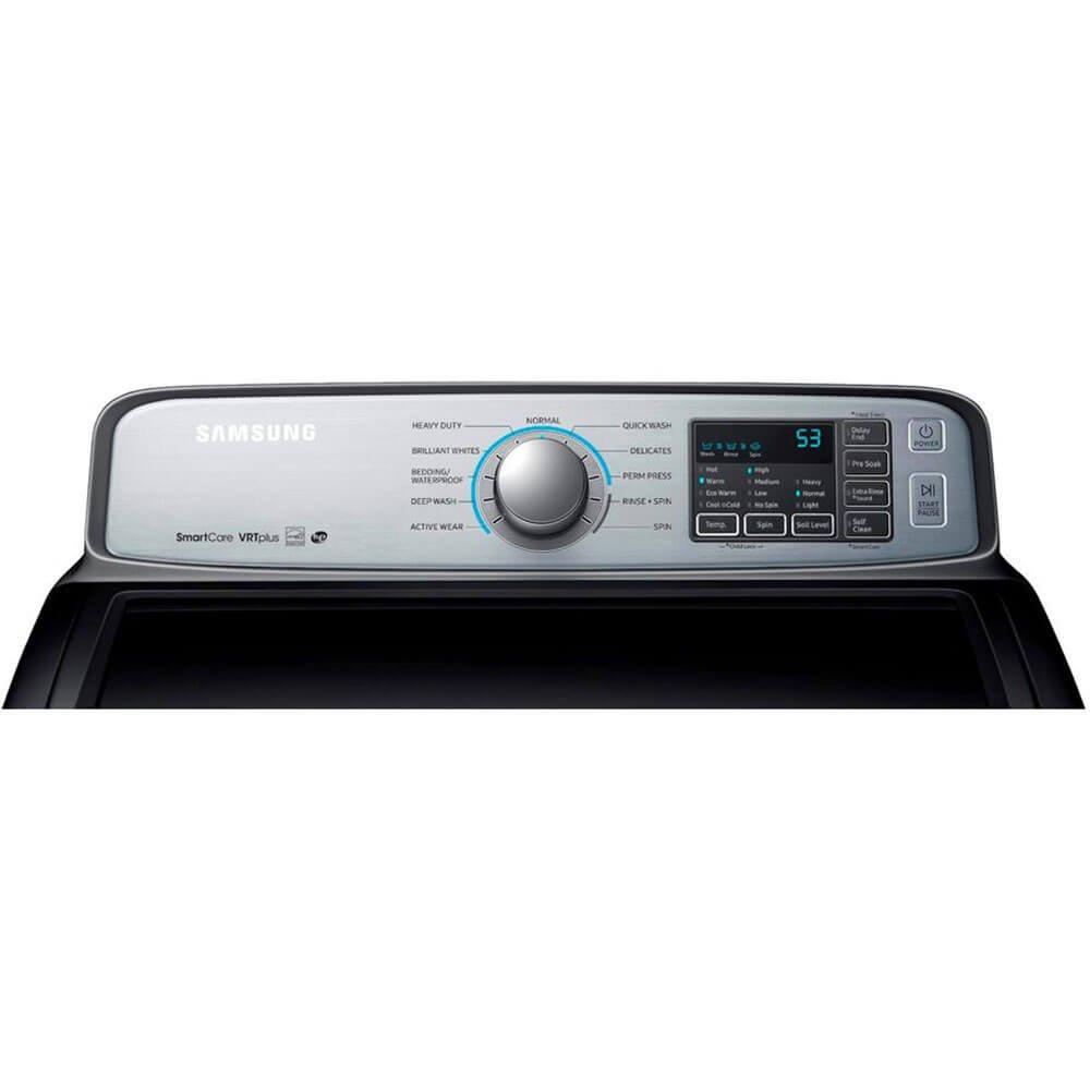 Samsung WA50M7450AP Independiente Carga superior 800RPM Platino ...
