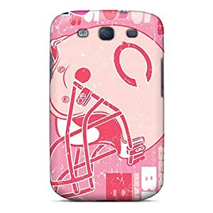 Elaney Snap On Hard Case Cover Chicago Bears Protector For Galaxy S3