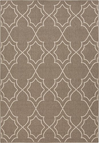 Safavieh Valencia Collection VAL203N Lavender and Multi Distressed Watercolor Silky Polyester Area Rug 6 x 9