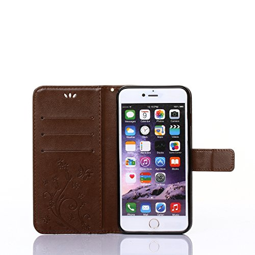 iPhone 6s Case, iPhone 6 Case, DRUnKQUEEn Premium Quality Protective Flip Folio PU Leather Cover Wallet Phone Holder with Foldable Kickstand for Apple iPhone6 / iPhone6s