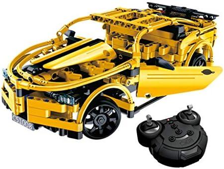 DIY Remote Control Racing Car Great Wasp Build Kits Educational Toy 419pcs