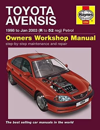 toyota avensis repair manual haynes manual service manual workshop rh amazon co uk 2016 Toyota Avensis Toyota Avensis 2013