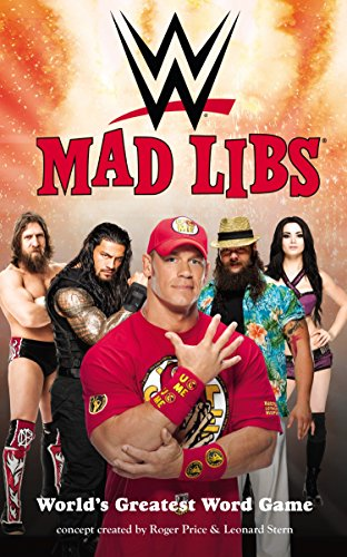WWE Mad Libs (Best Gifts For Wwe Fans)
