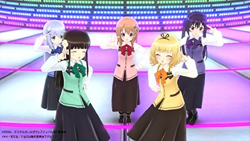 MIRACLE GIRLS FESTIVAL SEGA PS VITA JAPANESE GAME