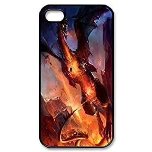 2015 hot dragons phone case For Iphone 4 4S case cover GHLR-T389559