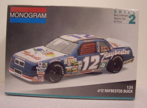 (Monogram #2431 #12 Raybestos Buick Regal 1/24 plastic kit)
