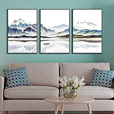 Framed Canvas Wall Art for Living Room, Bedroom Canvas Prints for Home Decoration Ready to Hanging - 24