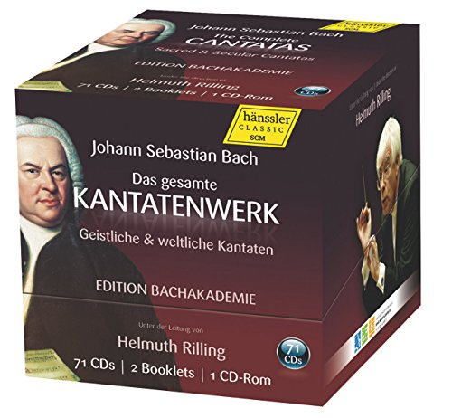 German Baroque Chamber Music - Bach: The Complete Cantatas