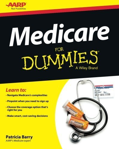 Medicare For Dummies by Barry, Patricia (2013) Paperback