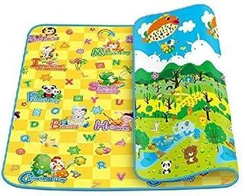 BuyKart Babys Resin Waterproof Infant Crawl Play Mat 6 x 4 ft