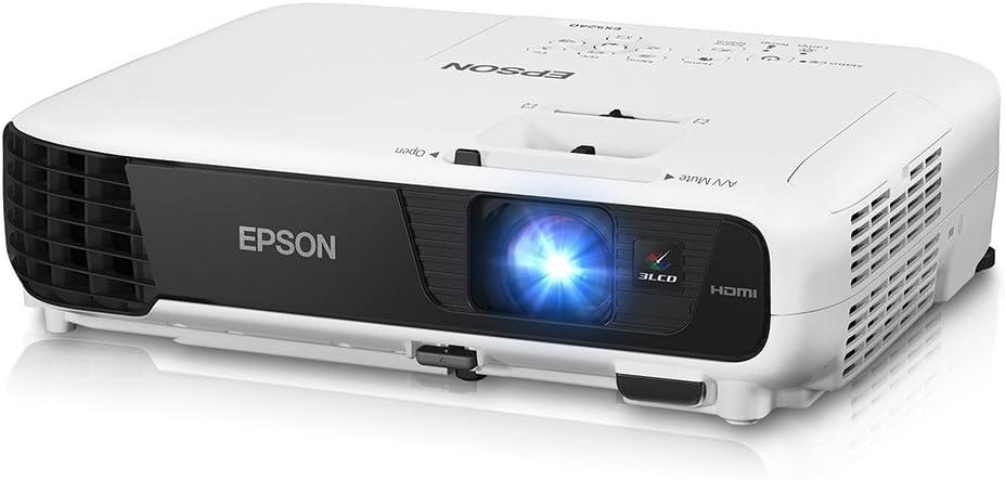 Epson EX5240, XGA, 3200 Lumens Color Brightness, 3200 Lumens White Brightness, 3LCD Projector