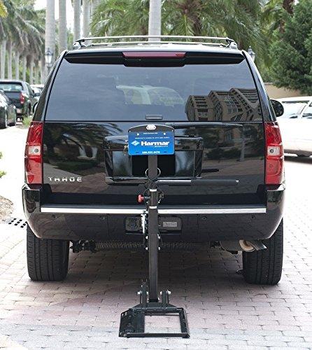 harmar mobility al580 power wheelchair lift outside fully automatic rh alifeshelpinghands com