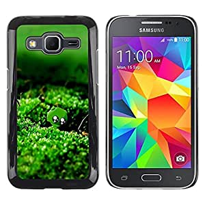 Paccase / SLIM PC / Aliminium Casa Carcasa Funda Case Cover - Nature Green Moss Water - Samsung Galaxy Core Prime SM-G360