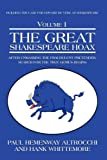 The Great Shakespeare Hoax, Paul Hemenway Altrocchi and Hank Whittemore, 1440123837