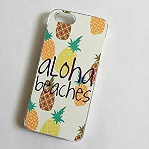 Diycase CLEAR cell phone case cover for iPhone 6 jrYbhtXCxy2 ALOHA BEACHES