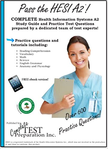 Amazon pass the hesi a2 complete study guide and practice pass the hesi a2 complete study guide and practice test questions kindle edition fandeluxe Gallery