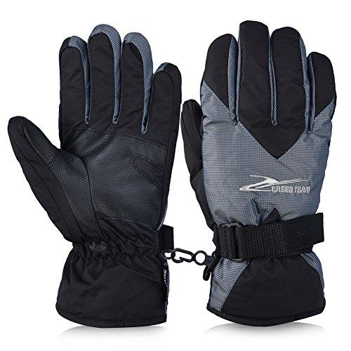 Vbiger Skihandschuhe Skifahren Handschuhe für HerrenOutdoor Handschuhe Sport Handschuhe Winter