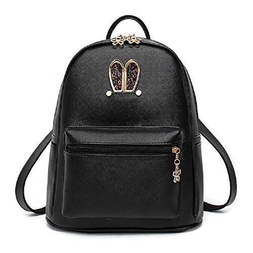 porté Femme Backpack Noir Main Goooodtrry au Dos Noir Goooodtrry pour Sac Noir à Rn0HPqWtS