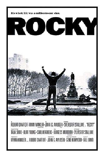Rocky Poster - His whole life was a million to one shot, 24x36 ()